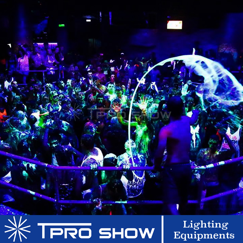 Image 5 - UV Disco Light Ultraviolet LED Strobe Dimming Mini Stage Lights Purple Lamp Projector DMX Blacklight for Small Party Pub DJ ClubStage Lighting Effect   -