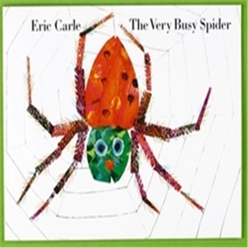 Free Shipping Famous English Picture Book For Children Eric Carle The Very Busy Spider