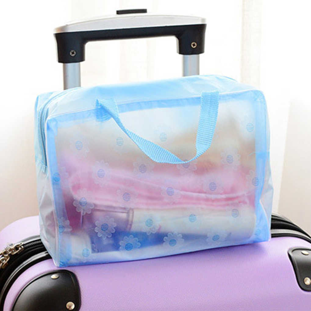 Portable Makeup Cosmetic Toiletry Travel Wash Toothbrush Pouch Organizer Bag Case Handbag Hot New