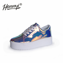 New Women Chunky Sneakers Casual Shoes Spring Autumn Fashion Platform Shoes Glitter Woman Luxury Shoes Women Designers