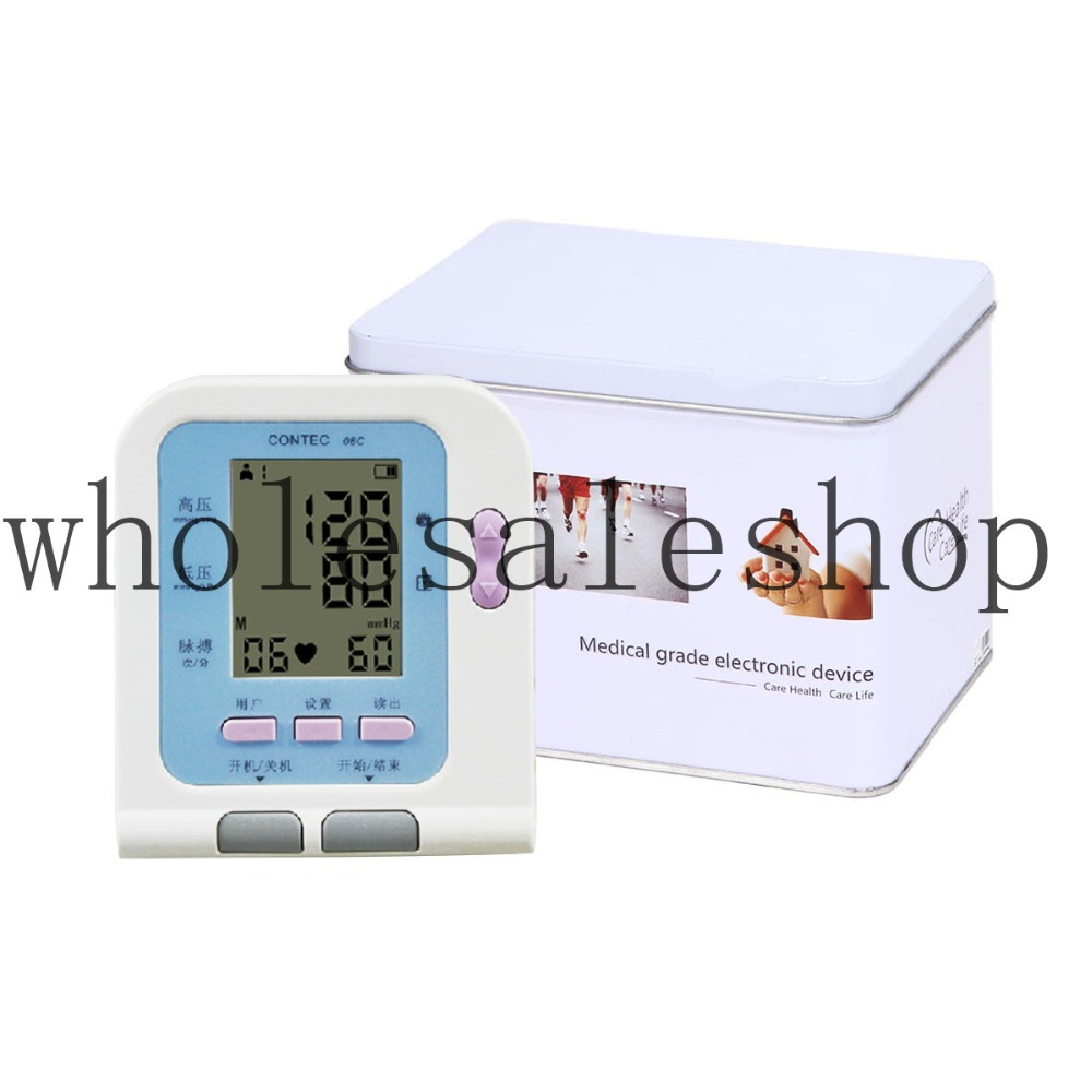 Digital arm blood pressure Monitor(Oxygen probe Cost ) bones нашивка bones swiss sheld