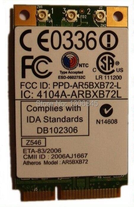 SSEA Wholesale Atheros AR5008 AR5BXB72 AR5418 Mini PCI-E WIFI Wireless Card For IBM T60 T61 X60 X61 42T0825