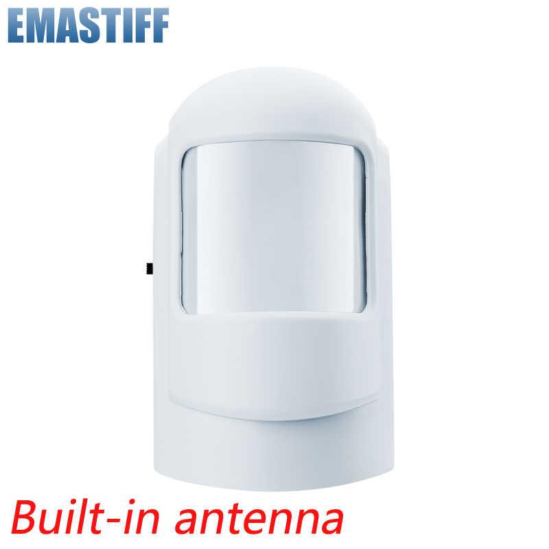 Cerdas Nirkabel PIR Sensor Gerak Detektor Alarm untuk GSM PSTN Rumah Pencuri Alarm Keamanan Sistem Built-In Antena