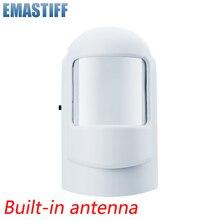 Kablosuz Akıllı PIR Hareket Sensörü Alarm Dedektörü GSM PSTN Ev hırsız alarmı Sistemi Güvenlik Dahili anten