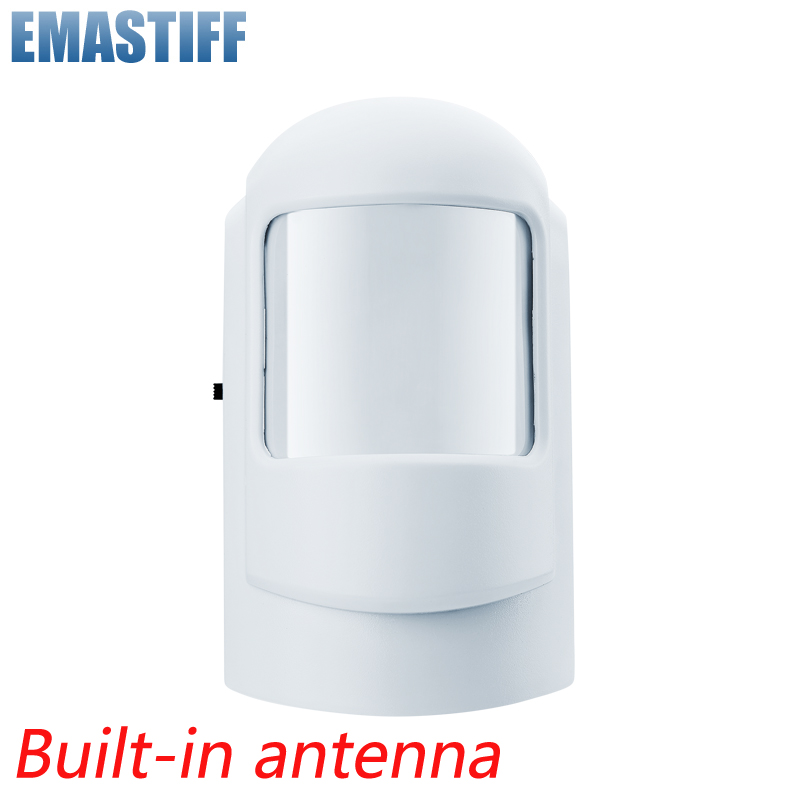 Wireless Intelligent PIR Motion Sensor Alarm Detector For GSM PSTN Home Burglar Alarm System Security Built-in Antenna