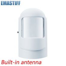 Wireless Intelligent PIR Motion Sensor Alarm Detector For GSM PSTN Home Burglar Alarm System Security Built in antenna
