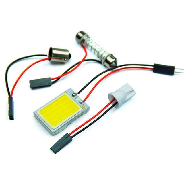 kongyide Healight Bulbs 3W 12V 18 COB Car LED Light Bulb Dome Festoon Interior NOV10