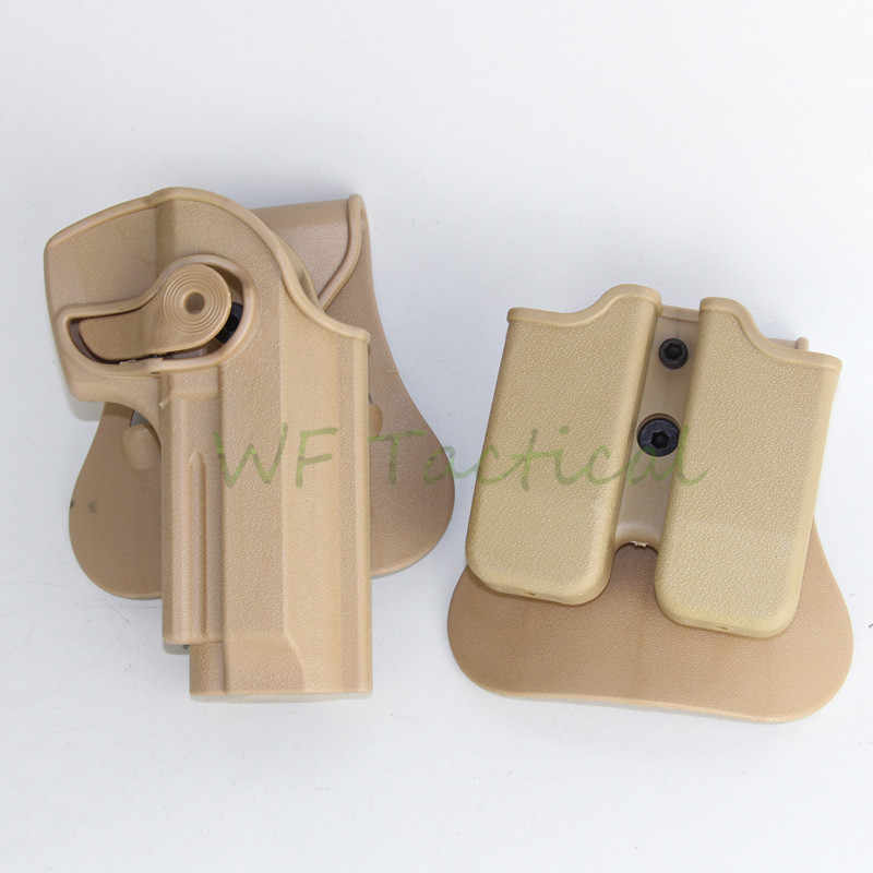 IMI DEFENSE Polymer Retention Roto Holster and double