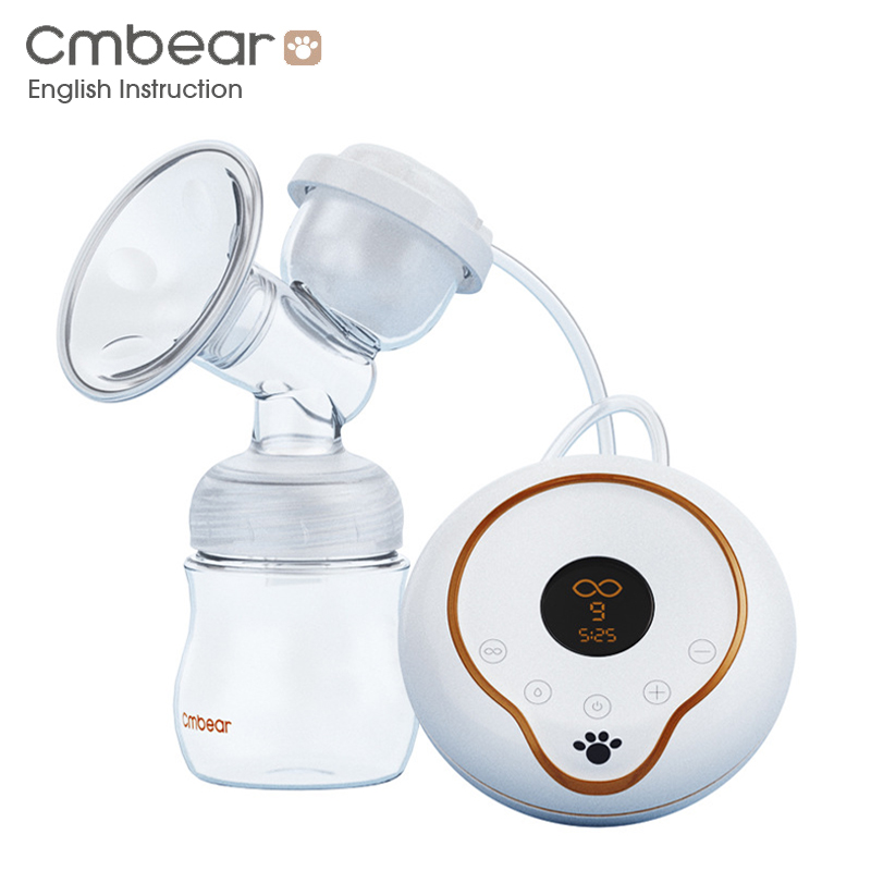 New 2018 LCD electric breast pump breast feeding automatic massage Frequency conversion USB Electric Breast Pumps baby bottle цена