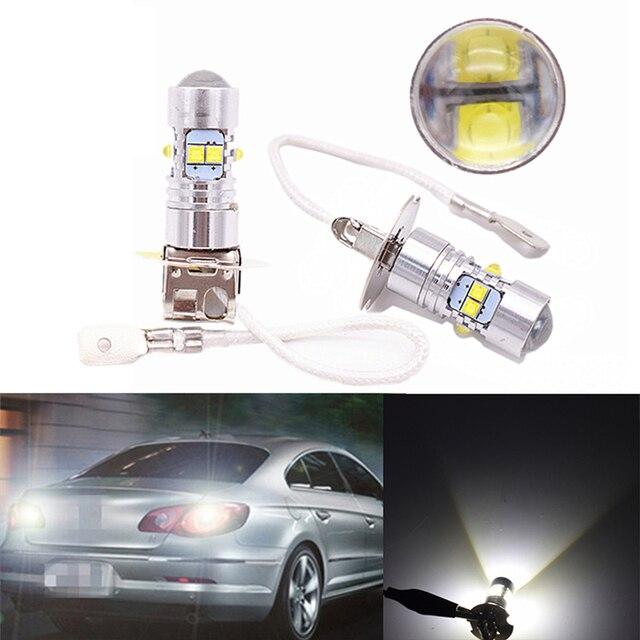 2018 Led Fog H3 Bulbs H3c Bulb Brake Light For Cars Toyota 4runner Camry 50 2006 2007 2008 2009