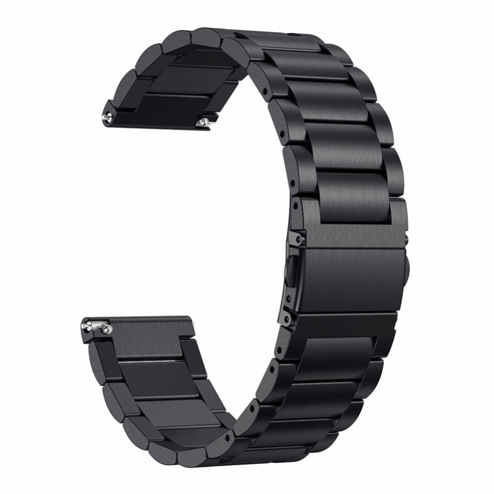 Fashion Metal Strap Screwless Stainless Steel Bracelet Replace Wristbands Smartwatch Strap Accessories Watch Band