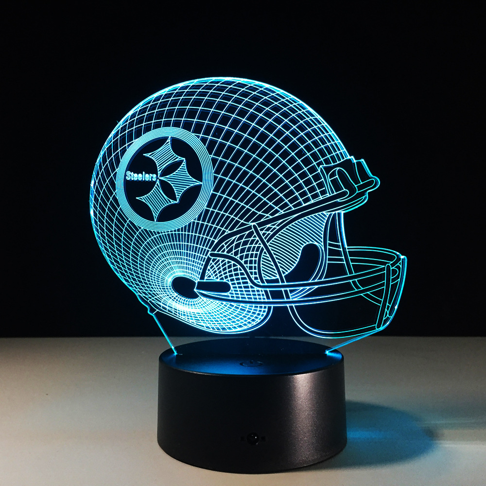 3D LED USB Table lamp Touch 7 Colors illusion Lampara Desk Lamps For Children Fans Night Lamp