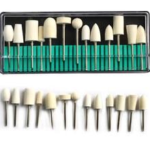 13styles/Set Wool Material  Nail  Bit Set Manicure and Pedicure Nail Art Machine Accessories Nail File Nail Tools NDBP12