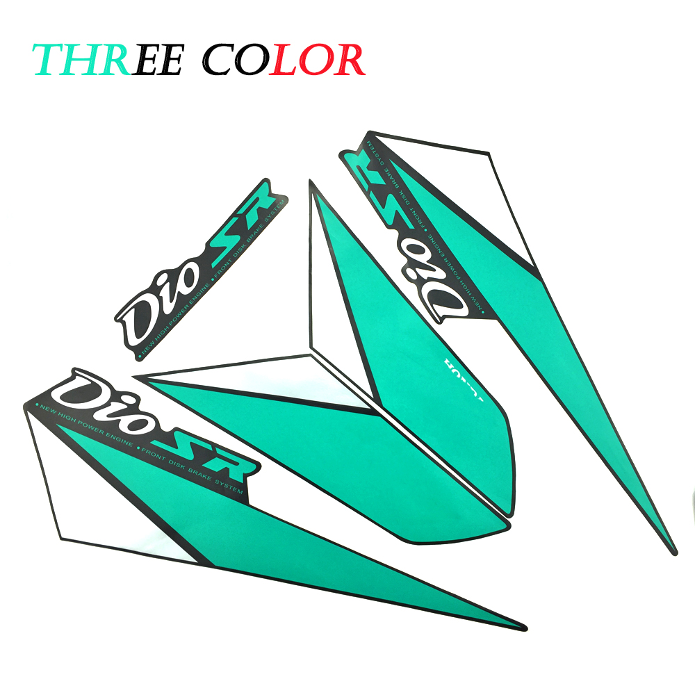 Motorcycle stickers decals motorcycle full body sticker motorcycle glue stickers for honda dio af28 af27 logo dio sr