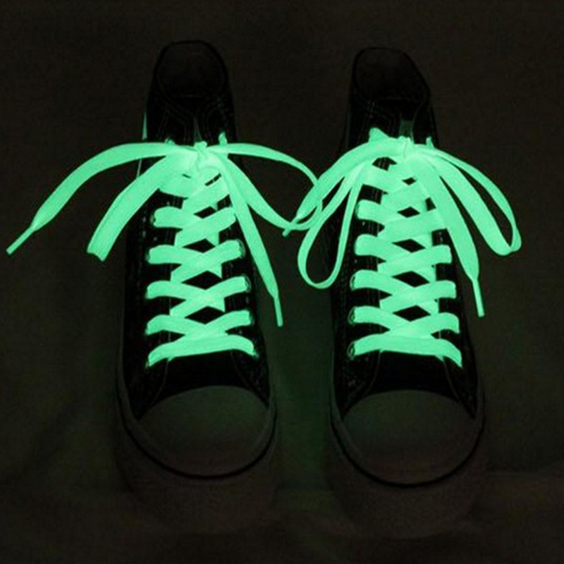 Humorous 120cm Fashion Sport Luminous Shoelace Toys Shoe Accessories Glow In The Dark Shoelace Night Running Gift At Any Cost Shoe Accessories Shoelaces
