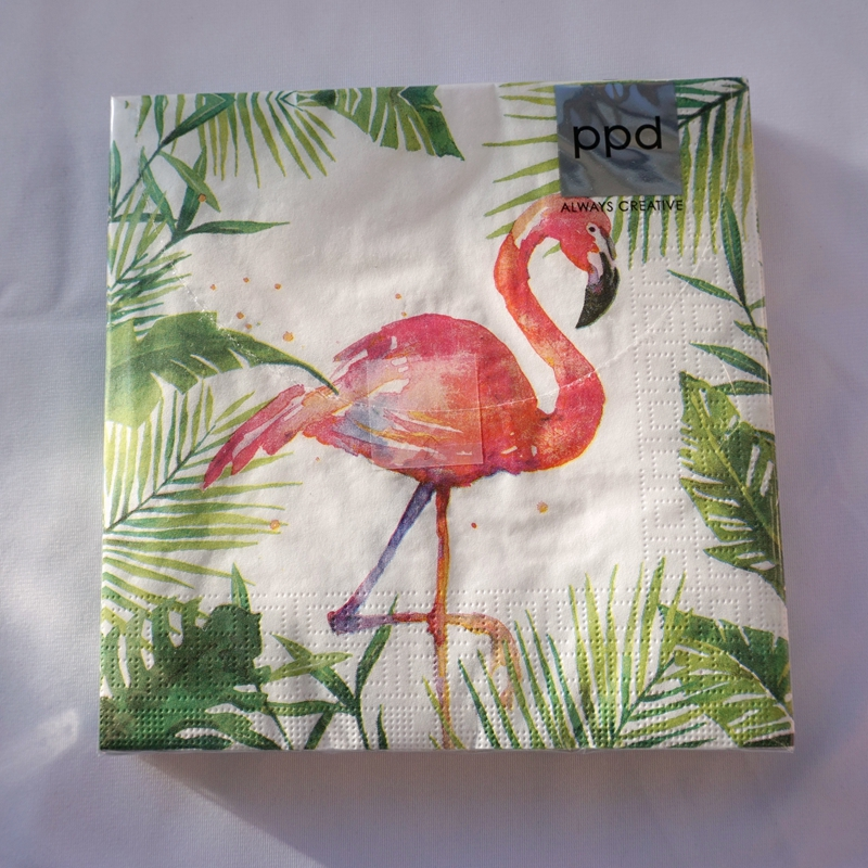 Welcome Easter 33 x 33cm 4 Individual Napkins for Craft /& Napkin Art 4 Paper Napkins for Decoupage 3-ply