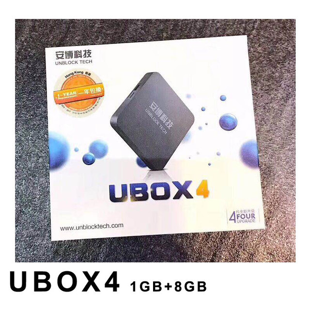 BỎ CẤM IPTV UBOX 4 Android 5.1 1 GB + 16 GB 1 GB + 8 GB TV Box Xem miễn phí 1000 Kênh Trực Tiếp
