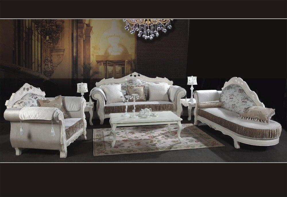 Moderno muebles para el hogar seccional de madera sólida sofá de ...