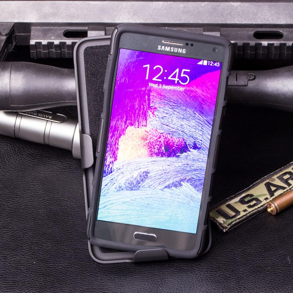 Armor Kasus Untuk Samsung Galaxy S6 S7 Tepi S4 Aktif Catatan 4 5 G530 - Aksesori dan suku cadang ponsel - Foto 2