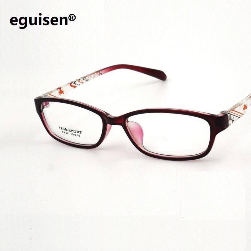 51-16-137 маленькое лицо модные очки Рамка ультра легкие TR90 обувь для мужчин и женщин Универсальный студент рамка зеркала 8834 Бесплатная доставк…