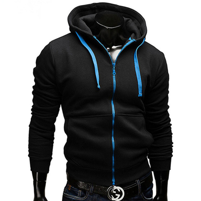 31df2ed4fa915 Marca de moda sudaderas con capucha de los hombres ropa deportiva Casual  Hombre con capucha cremallera