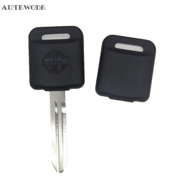 Autewode Замена транспондера Ключевые чехол transitover Keyless для Nissan ключ пустой FOB автозапчасти 2 шт. аксессуары