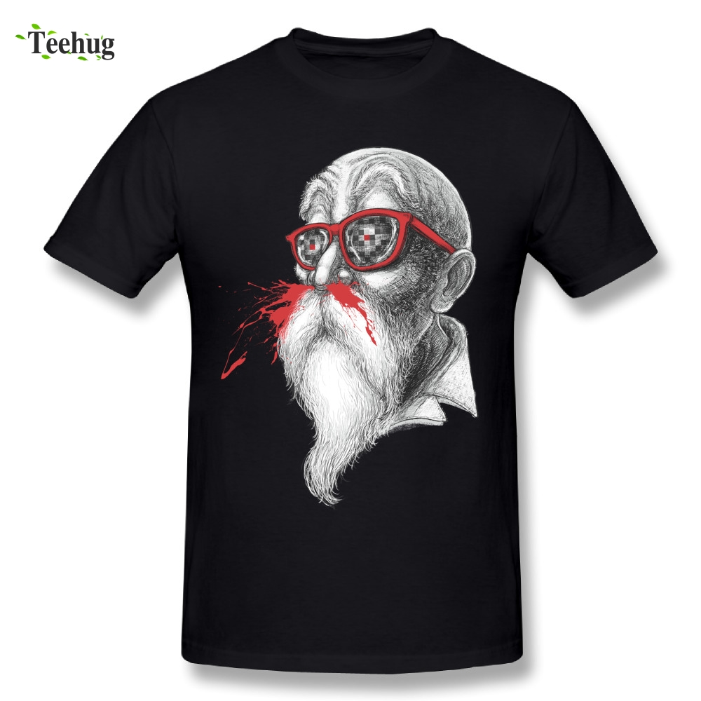 Novelty Men Master Roshi Dragon Ball   T     Shirt   Brand 3D Print Homme Tee   Shirts   Camiseta