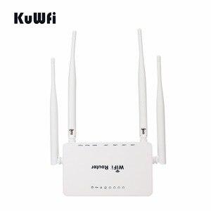 Image 3 - Rete domestica senza fili del Router del segnale di wifi precaricato openWRT del Router senza fili di alto potere 300Mbps con lantenna 4*5 dbi