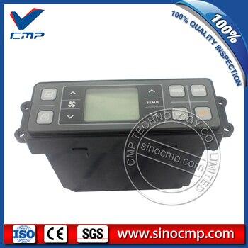 Robex R210-9 R225-9 Máy Xúc Điều Hòa Không Khí Bảng Điều Khiển cho Hyundai