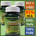 Buy 3 get 1 free! (30 DAYS SUPPLY) Pure garcinia cambogia 95%HCA slimming products loss weight diet product for women