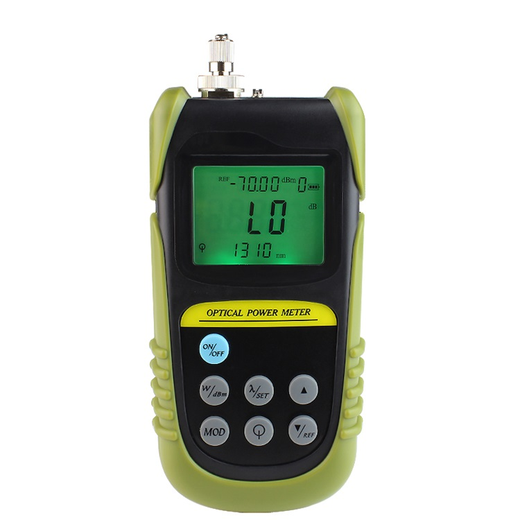 High Quality Power Meter Optico +6 ~ -70 dbm with FC/SC Connector used in TelecommunicationsHigh Quality Power Meter Optico +6 ~ -70 dbm with FC/SC Connector used in Telecommunications