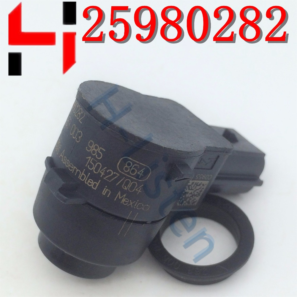 25980282 Original Parking PDC Ultrasonic Sensor Reverse Assist for G M C ruze O pel C adillac OE#0263003985