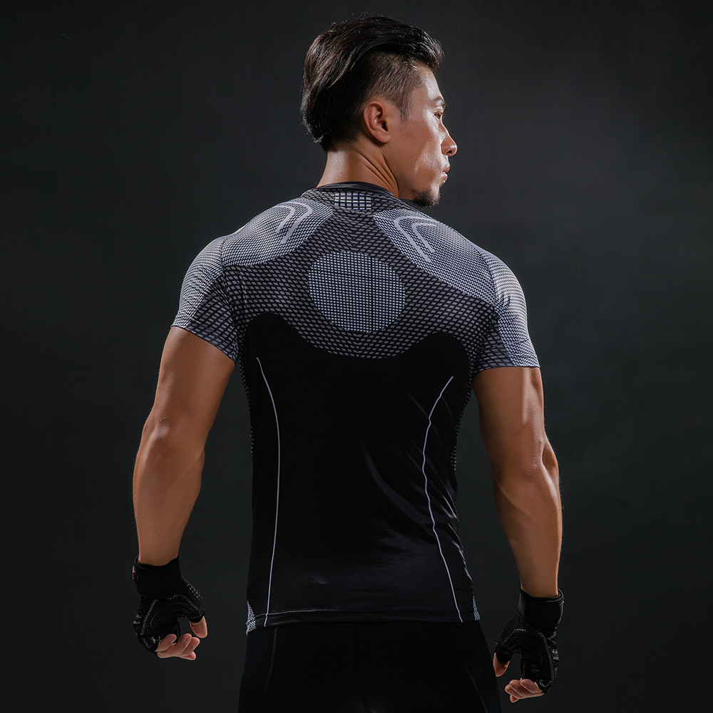 Punisher 3D Printed T-shirts Men Compression Shirts Long Sleeve Cosplay Costume crossfit fitness Clothing Tops Male Black Friday 75