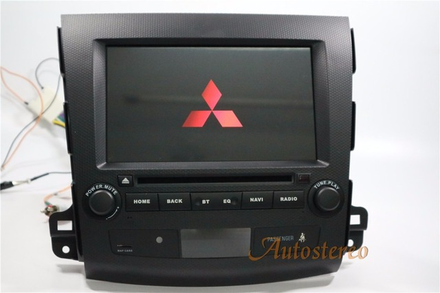 The newest Android 7.1 Car DVD player GPS Navigation for Mitsubishi Outlander 2006~2012 For Citroen C-Crosser for Peugeot 4007