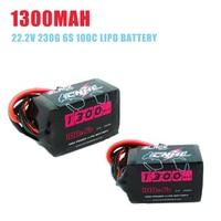1/2/4PCS CNHL Black Series 1300mah 22.2V 6S 100C Lipo Battery XT60 Plug for RC Drone FPV Racing DIY Accessories Replacment Parts
