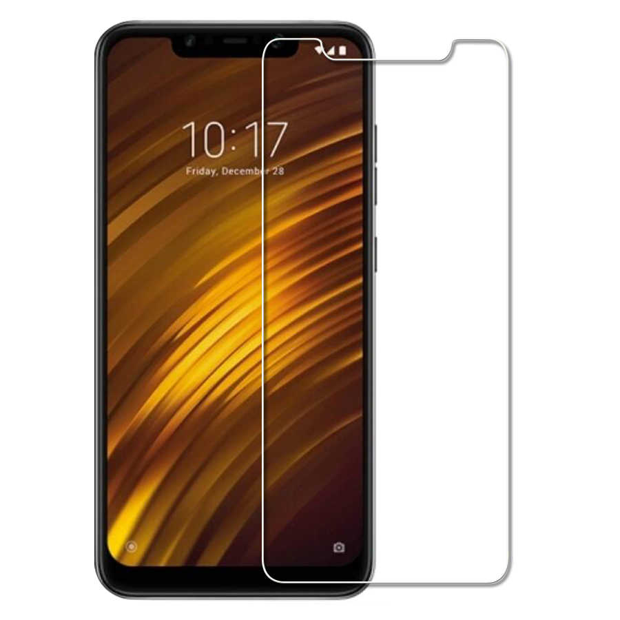 Tempered Glass for Xiaomi Pocophone F1 Screen Protector for Pocophone F1 Protective Film Glass Mi Pocophon F1 F 1 Global Version