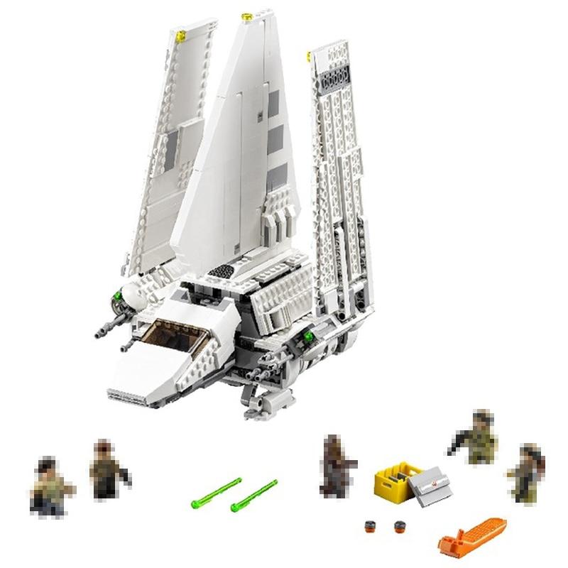 LEPIN 05057 937Pcs Star MOC Series war Technic Imperial Shuttle Tydirium Building Blocks Bricks Toys Compatible 75094