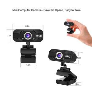Image 5 - Hxsj S50 usb webカメラ720p hd 1MPコンピュータカメラウェブカメラw/内蔵吸音マイク1280*720ダイナミック解像度