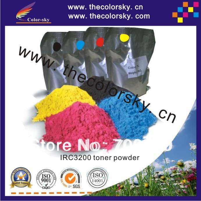 (TPC-IRC3200U) copier toner powder for Canon IRC-3200 IRC-3220 IRC-4080 IRC-5180 HP9500 GPR-21 GPR-20 GPR-11 1kg/bag free DHL powder for hp 1017mfp for canon isensys 5100 for hp lj cm1017 laser toner powder free shipping