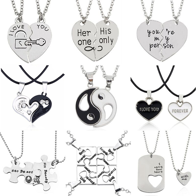 2 BFF & Couples Necklaces (several styles)