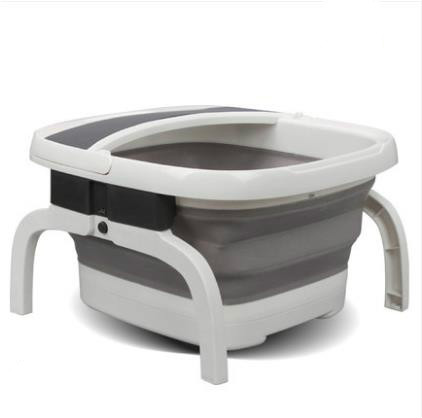 Folding foot bath foot bath device of electric heating automatic massage home pedicure bubble foot barrel temperature deep