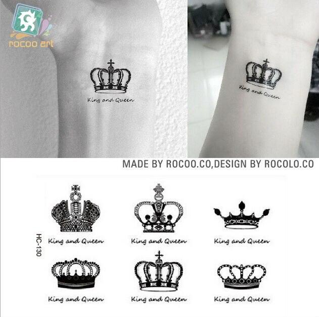 ᐃ100 Hojalot Negro Corona Tiara Rey Y Reina Manera Impermeable