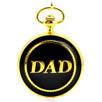 Golden Luxury Antique Skeleton Mechanical Hand Wind Pocket & Fob Watches Mens Pocket Watch Pendant Full Hunter Father's day Gift
