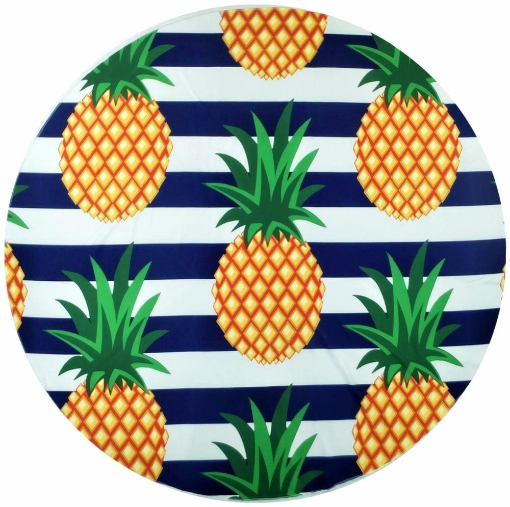 indien tapisserie ananas blume gedruckt mandala wandbehang böhmen