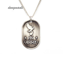 W5294 New Fashion Rock Band Hollywood Undead Rock Music Alloy Pendant Necklace(China)
