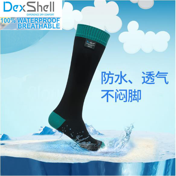 Men high quality knee-long breathable coolmax hunting waterproof/windproof Wading in-cuff seal hiking outdoor sport socks цена 2017