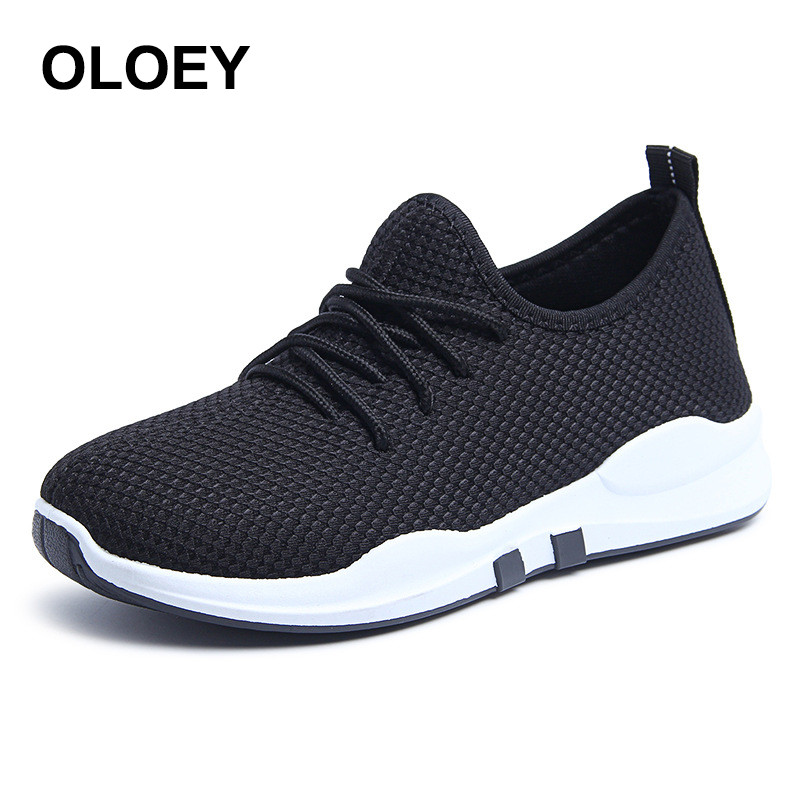 2018 New arrived women running shoes Women flats Shoes Zapatillas deportivas Max Eur Size 36-40 black sneakers women