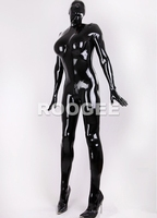 Latex Full Suit Bodysuits For Women Zentais 0 6 Mm Thickness