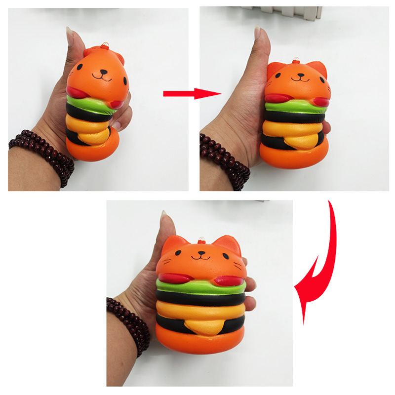 Reliable Jumbo Squishy Soft Slow Rising Stretchy Squeeze Kawaii Strawberry Three Layer Cake Pressure Reliever Child Kid Toys Birth Gifts Cellphones & Telecommunications Mobile Phone Accessories