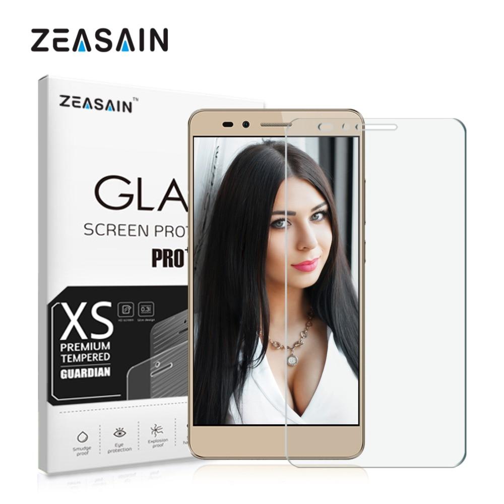 Original ZEASAIN 2.5D 0.3mm skärmskydd härdat glas för Huawei - Reservdelar och tillbehör för mobiltelefoner